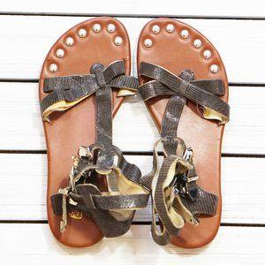 Matt Bernson KM Gladiator Sandals 7